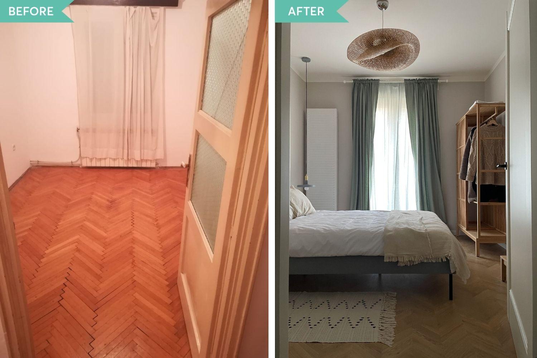 amenajare apartament cu 2 camere decomandat