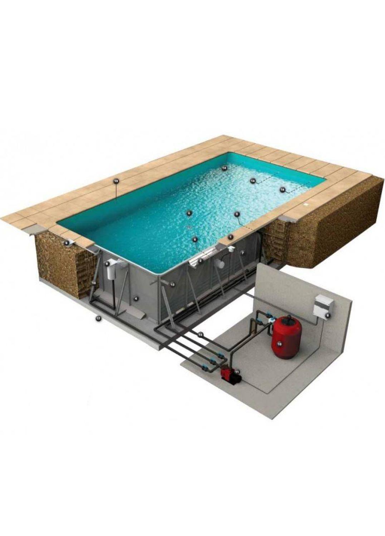 piscina structura metalica