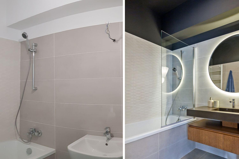 renovare baie vopsirea gresiei