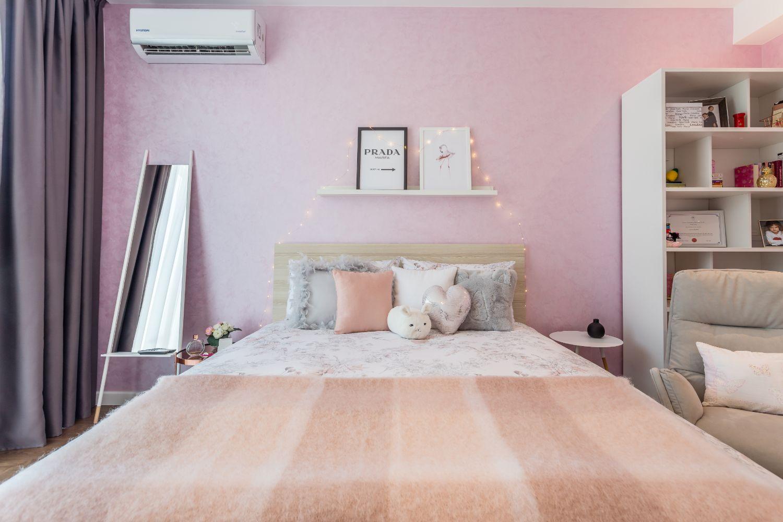 Amenajare camera fetita roz arh. Irina Radu iDecorate foto Vlad Creteanu (1)