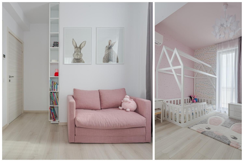 Amenajare camera fetita roz - iDecorate