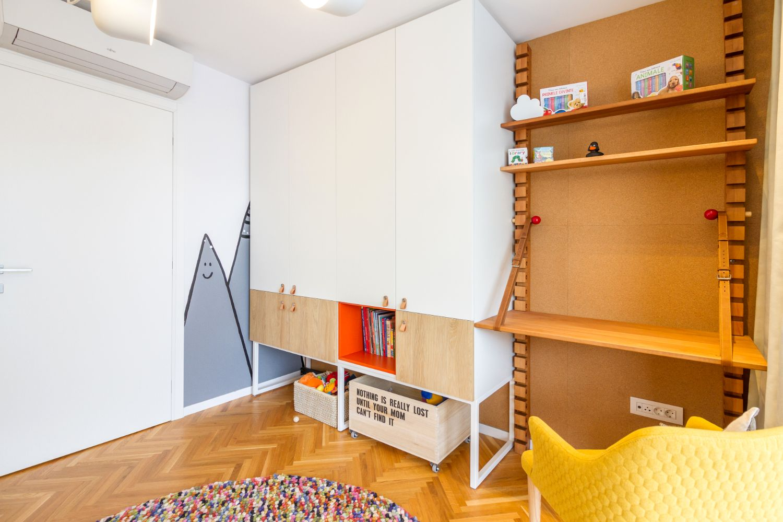 Miso Architects_Ap Travelers' Home-camera copil pat Montessori
