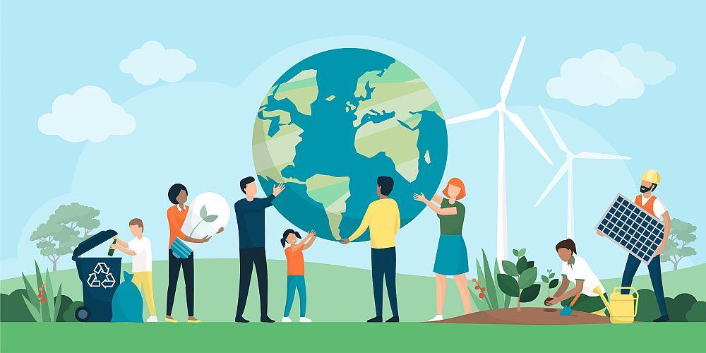 ZIua Pământului reciclarea