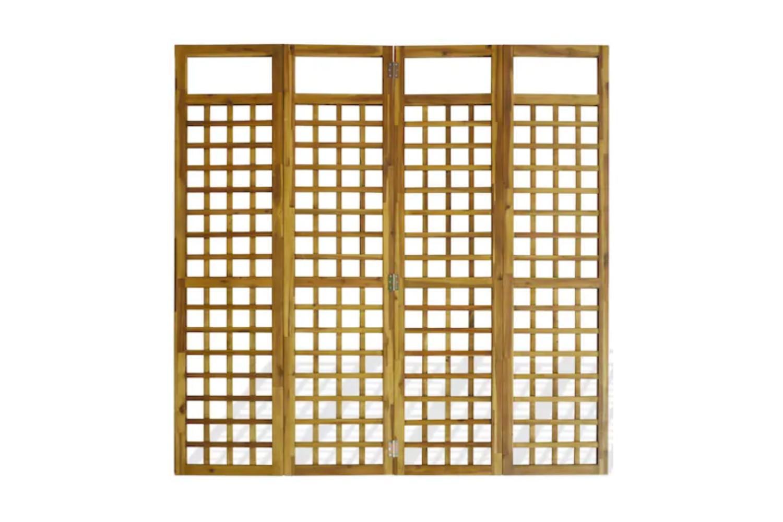 perete despartitor din lemn de acacia interior exterior