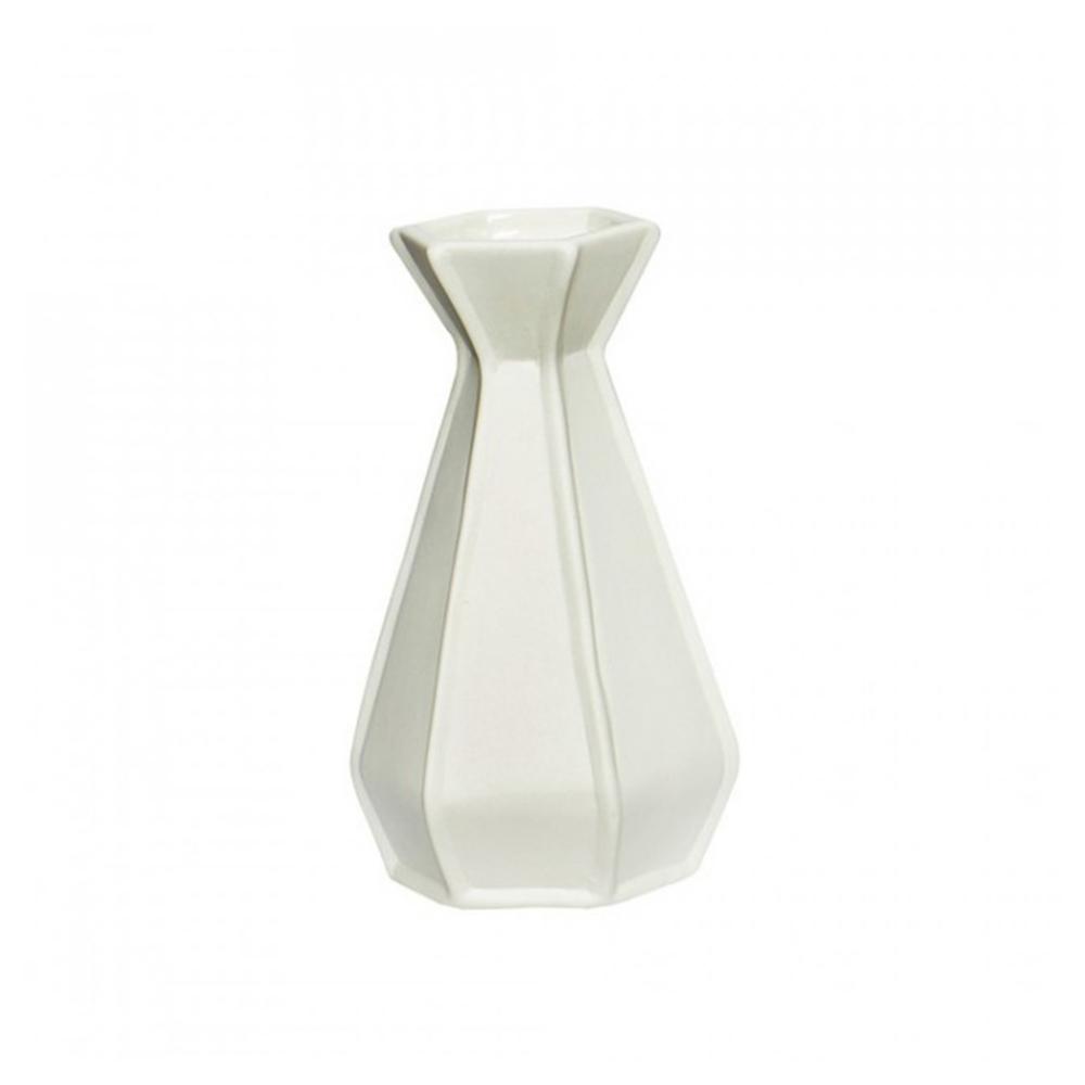 vaza alba din ceramica