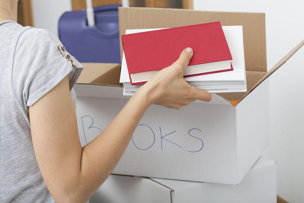 cum să împachetezi cărțile poziție