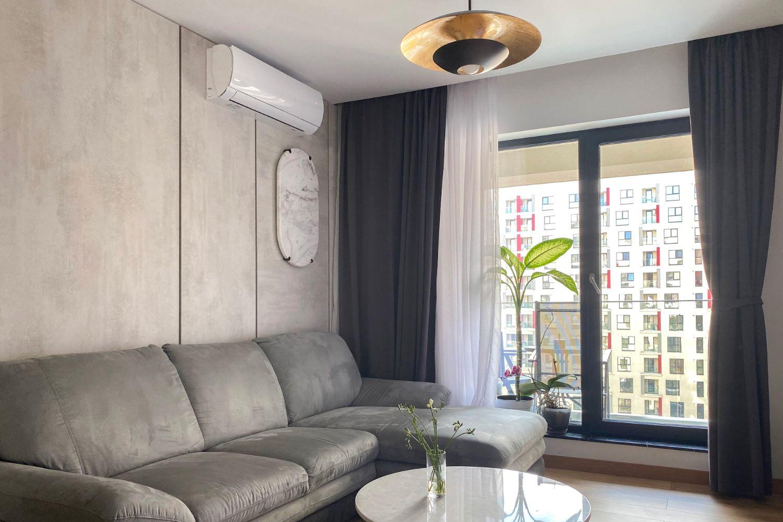 amenajare apartament 3 camere decomandat living