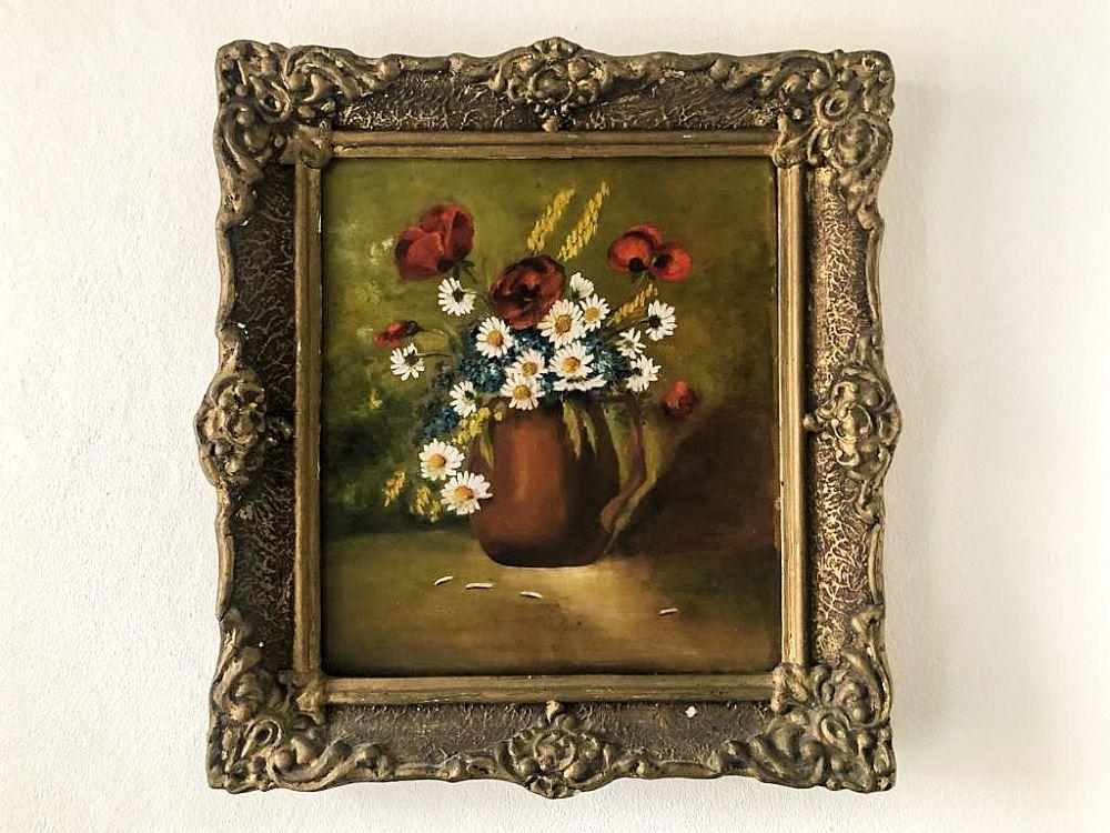 Obiecte decorative moștenite tablou
