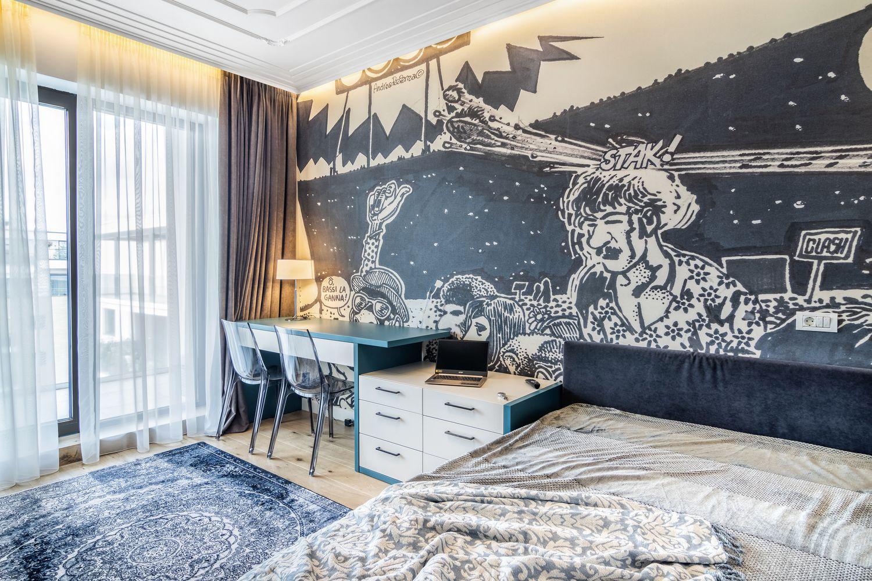 amenajare penthouse dormitor