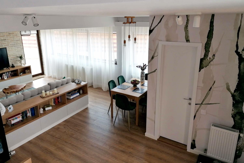 living dining open space sonia silvas