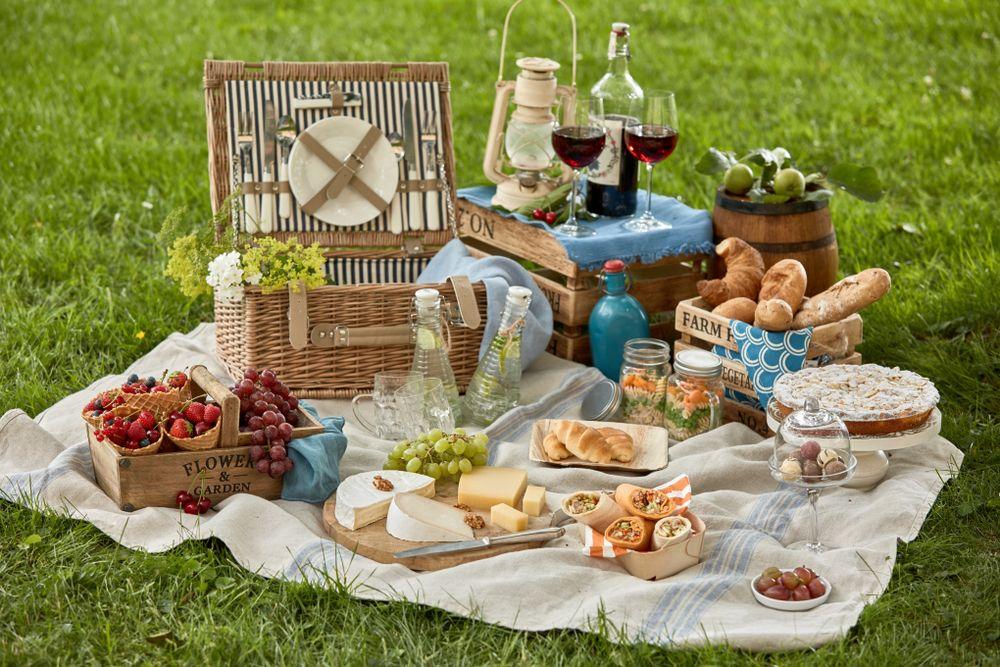 picnic instagramabil coș