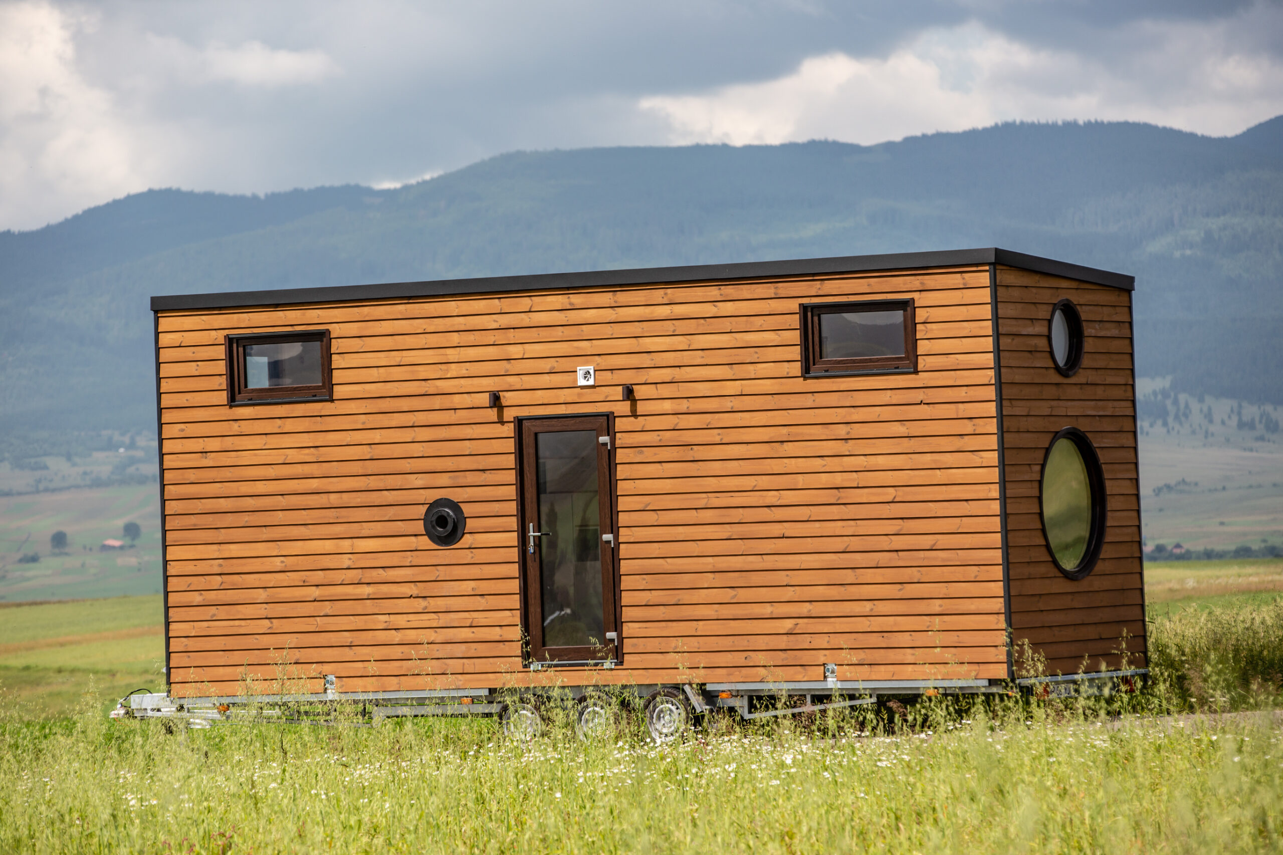 constructie tiny house România