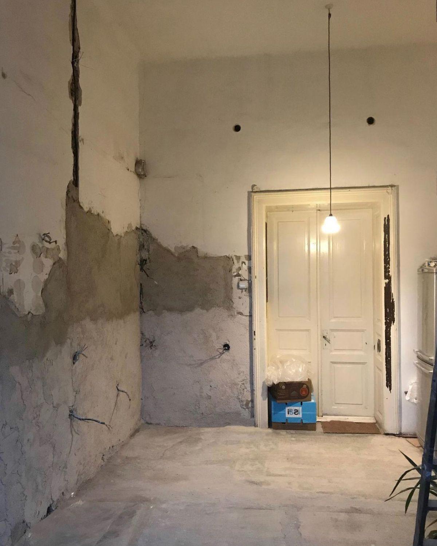 apartamentul in timpul lucrarilor