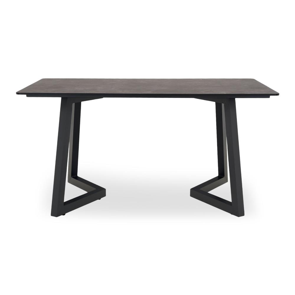 mobilier de gradina mobexpert masa exterior neagra