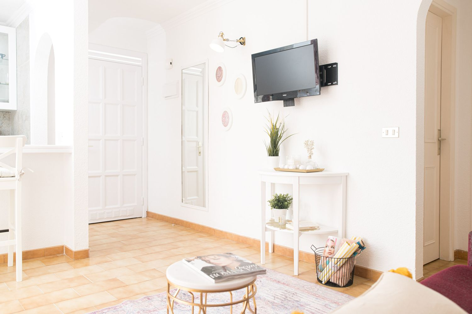 before and after apartament de vacanta shabby chic