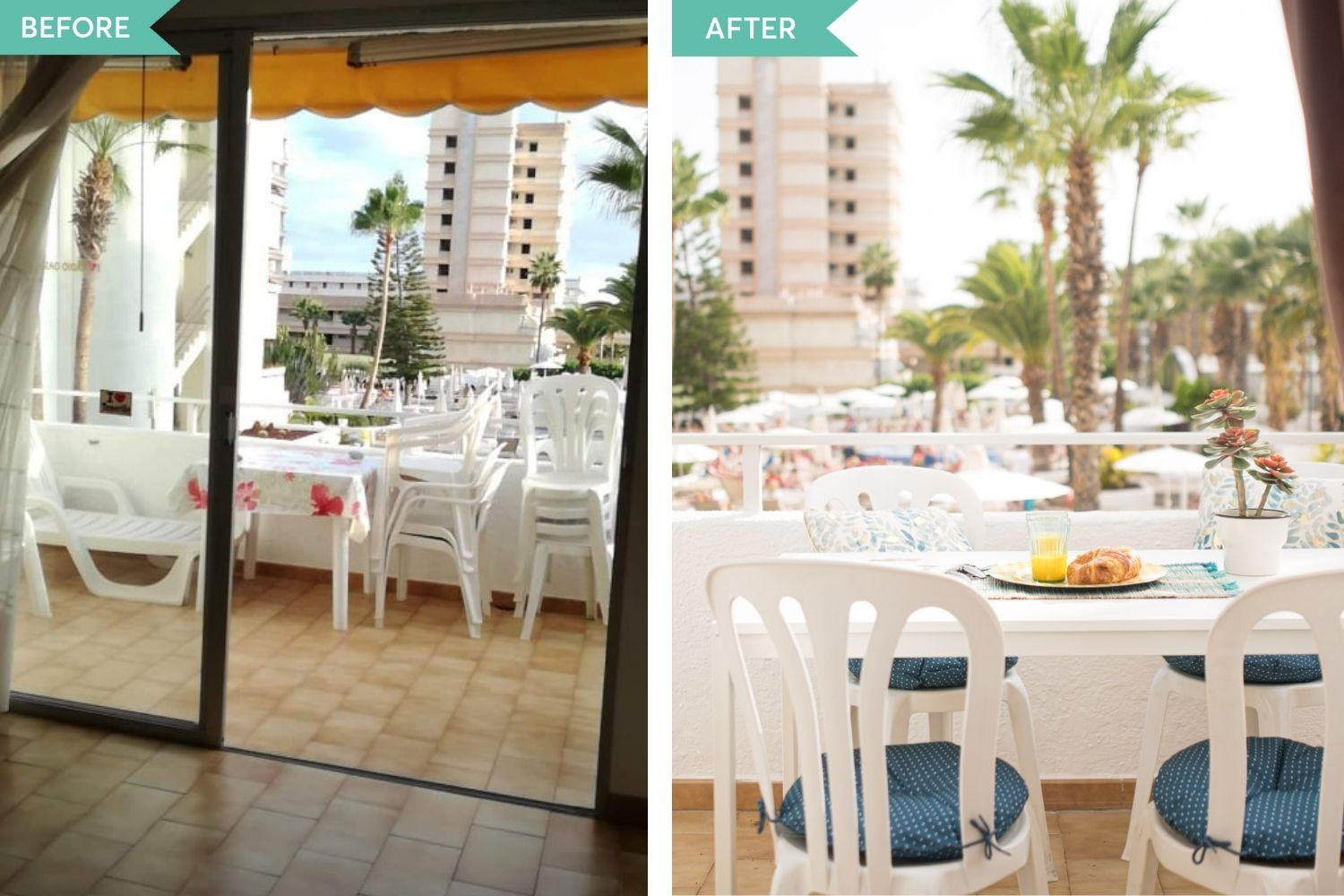 before and after living Tenerife