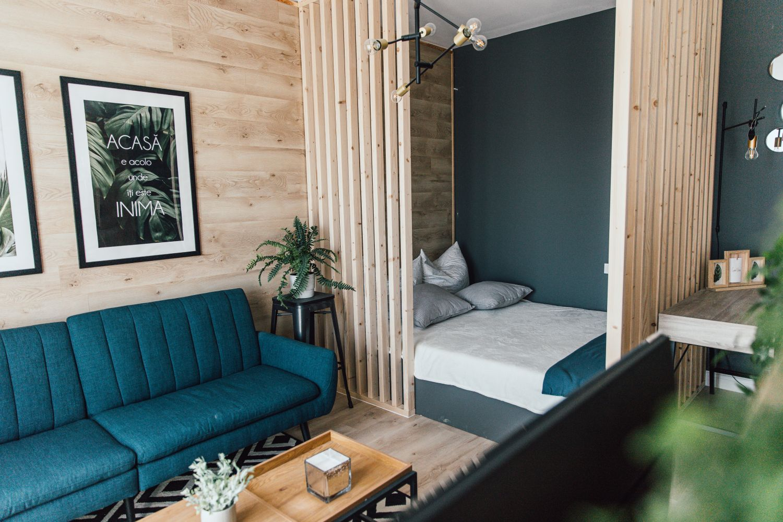 living dormitor si birou garsoniera lucas cornea