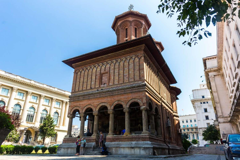 stilul brâncovenesc - biserica kretzulescu