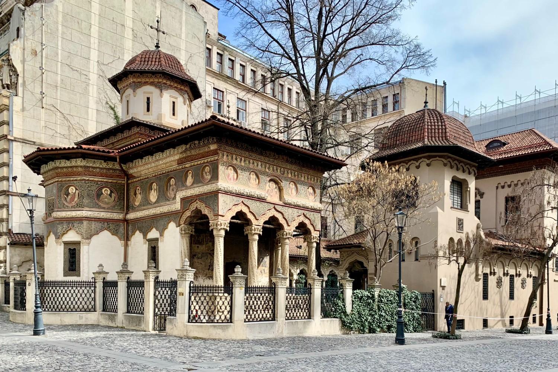 stilul brâncovenesc - biserica stavropoleos