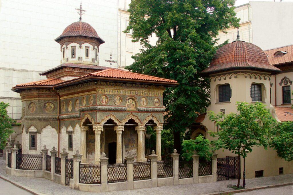 stilul brâncovenesc - biserica stavropoleos1
