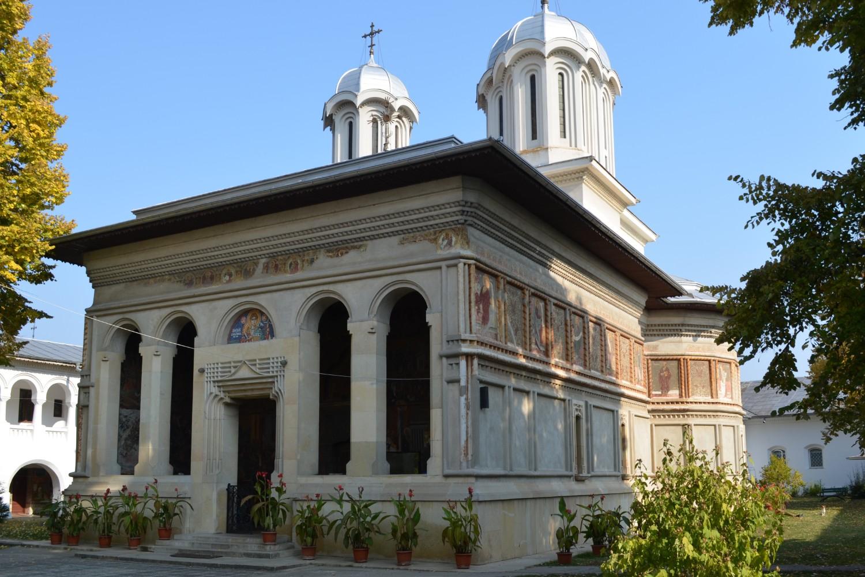 stilul brâncovenesc - manastirea caldarusani
