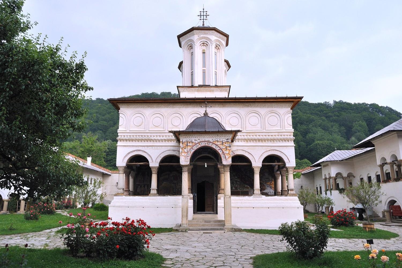 stilul brâncovenesc - manastirea horezu2