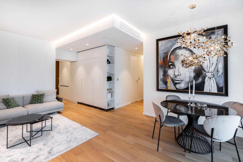 Apartament elegant amenajare Sami Bumbu Bucuresti - open space stil modern (5)