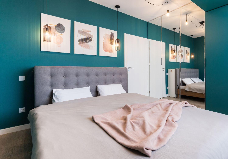 Dormitor verde Bucuresti - arh. int. Stefania Bobaru VIM Studio (1)