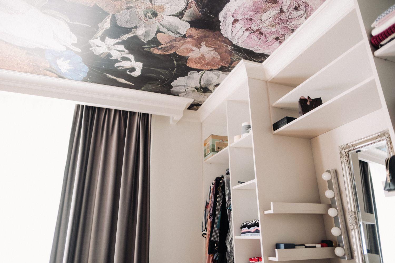 amenajare tavan tapet design first