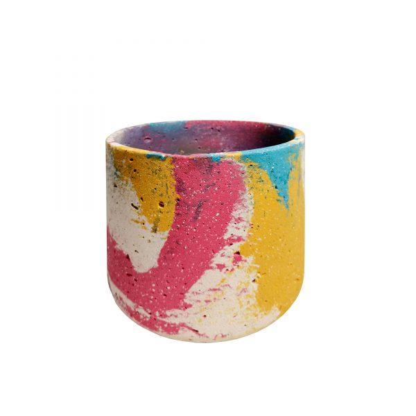 ghiveci ciment colorat the modernium
