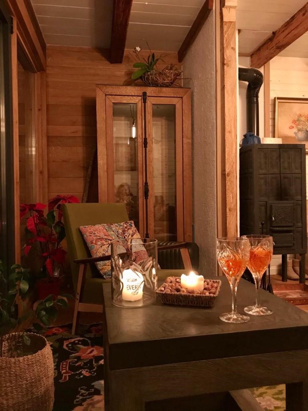 """Designul de interior este eclectic, """"un mélange de stiluri, dar foarte cozy"""""""