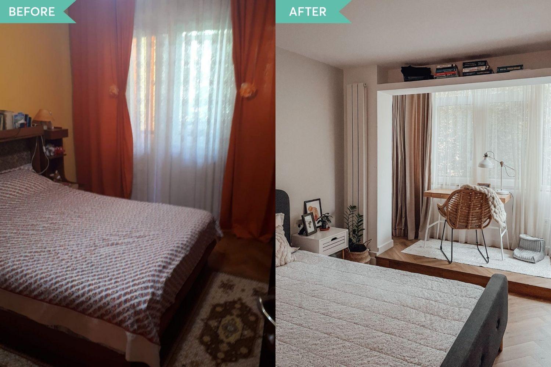 before_After_dormitor_matrimonial_iași