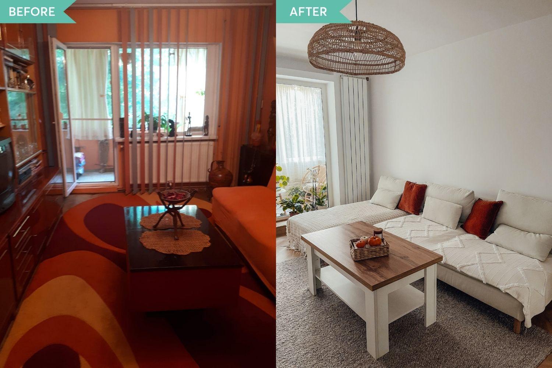 before_after_living_apartament_iași